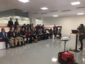 Primera reunión del 'Grupo de Trabajo Industria 4.0 de Castilla y León'.
