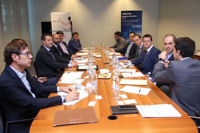 El encuentro contó con el apoyo de ESI Group,  firma experta en el mundo del software de simulación y de la realidad virtual.